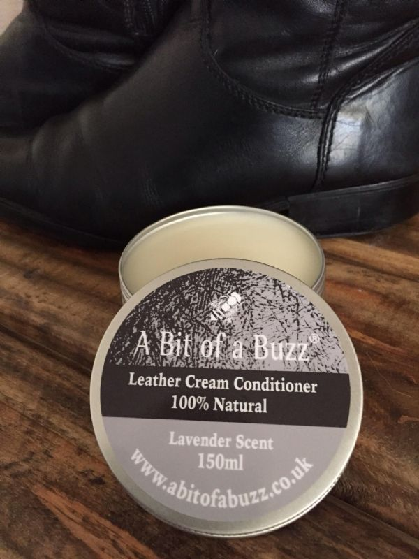 Leather Cream Conditioner - 100% Natural 150ml